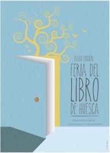 Cartel Feria Libro Huesca 2015