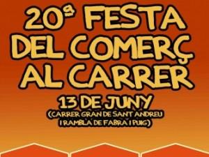 Comerç al Carrer Sant Andreu 2015
