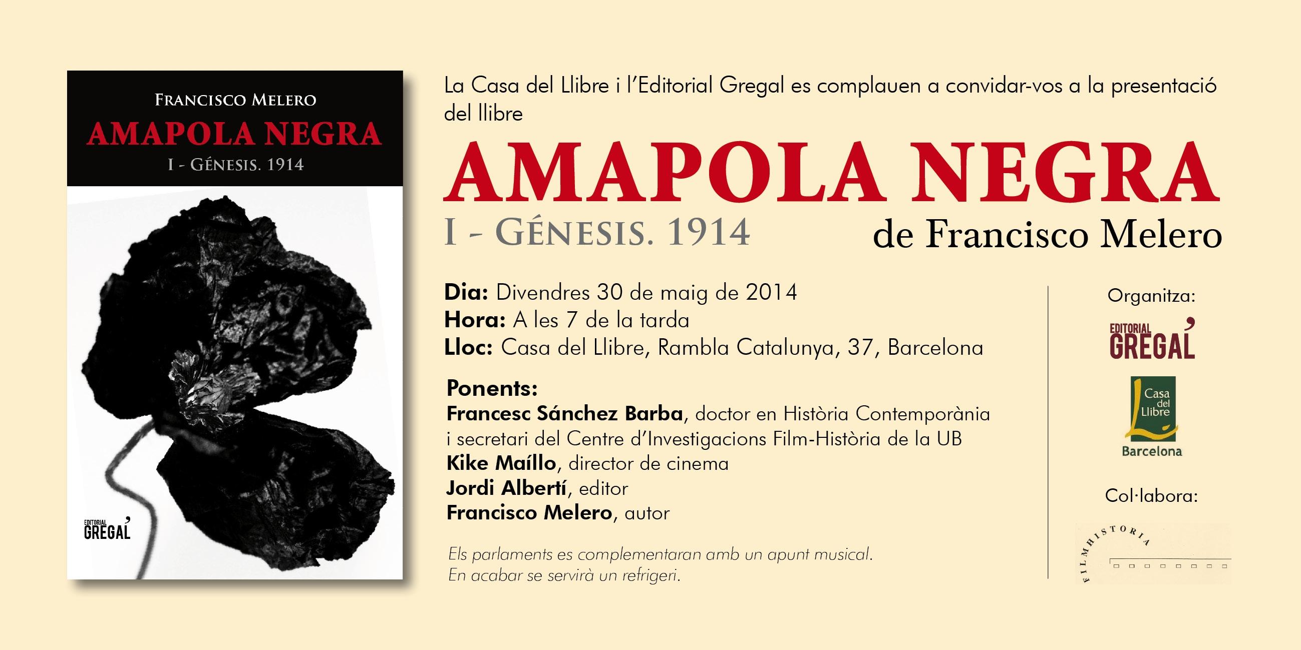 Francisco melero p gina web oficial del escritor agenda - Casa del libro barcelona rambla catalunya ...