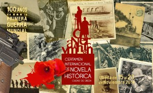 Cartel II Certamen Novela Histórica Ciudad de Úbeda 2014
