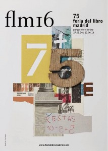 Cartel Feria Libro Madrid 2016
